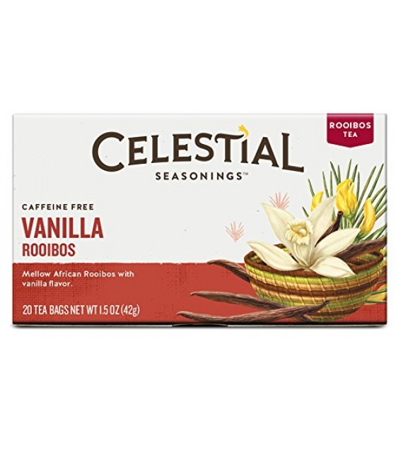 [Celestial Seasonings] Red Teas Madagascar Vanilla