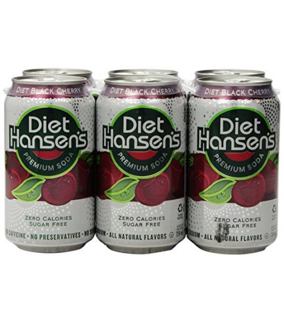[Hansen`S] Diet Sodas Black Cherry