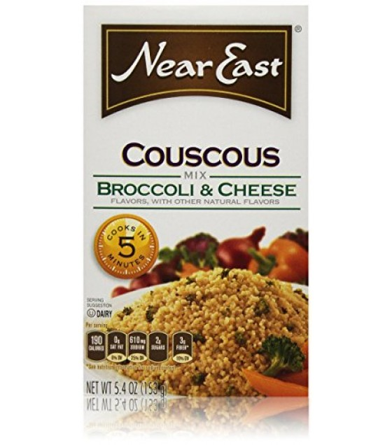 [Near East] Couscous Broccoli