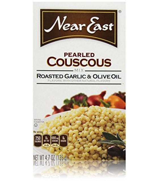 [Near East] Couscous Pearled, Rst Garlic & Olive Oil