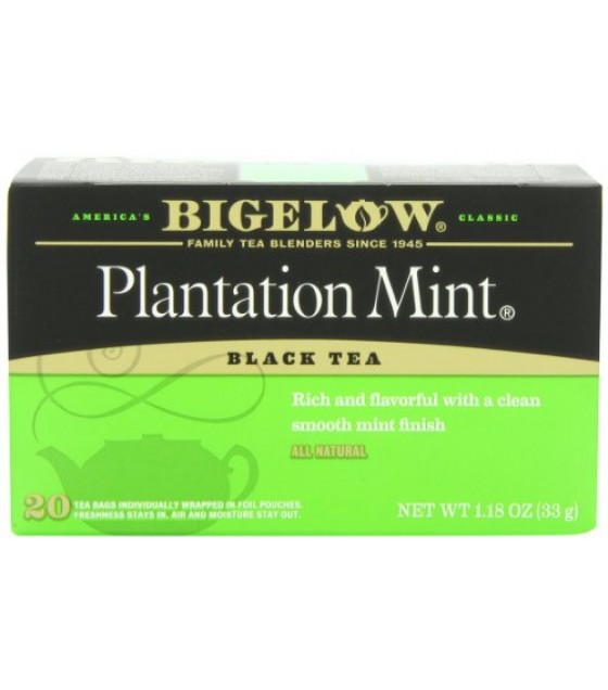 [Bigelow] Teas Specialty Tea Plantation Mint