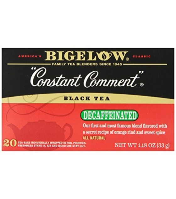 [Bigelow] Decaffeinated Tea Bags Constant Comment Decaf