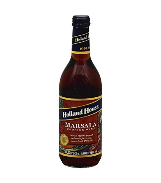 [Holland House] Vinegars & Cooking Wines Marsala Cooking Wine