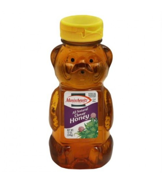 [manischewitz] Clover Honey Bear,squeeze