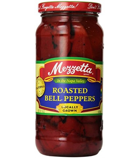 [Mezzetta] Pickled Peppers Red Bell Peppers, Roasted