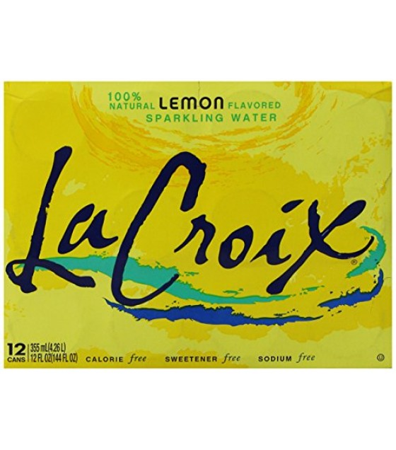 [Lacroix] Sparkling Water Lemon