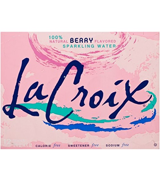 [Lacroix] Sparkling Water Berry