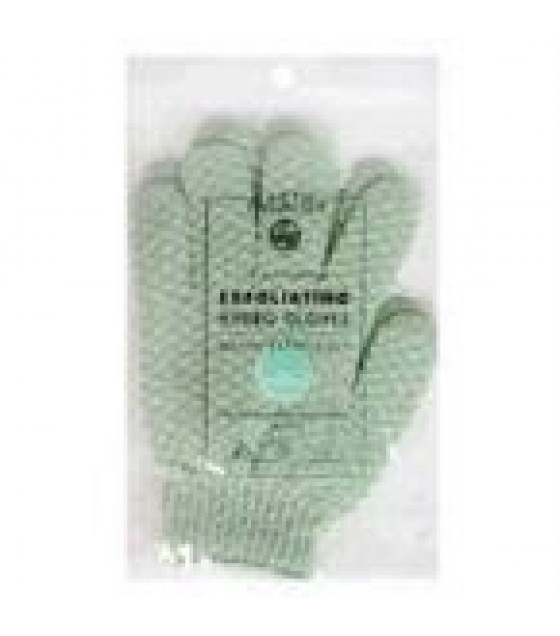 [Earth Therapeutics, Ltd.] Body Care Spa Accessories Exfoliating Gloves, Natural