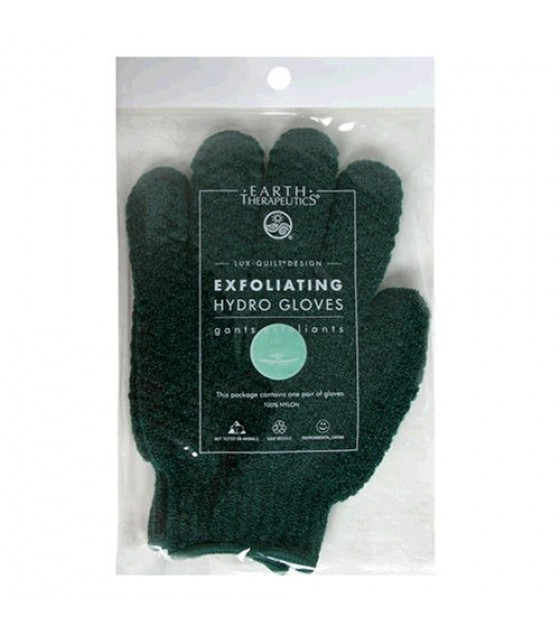 [Earth Therapeutics, Ltd.] Body Care Spa Accessories Exfoliating Gloves, Green