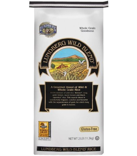 [Lundberg Family Farms]  Wild Blend Rice  At least 95% Organic