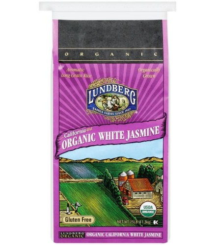 [Lundberg Family Farms]  Jasmine, White Food Service  At least 95% Organic
