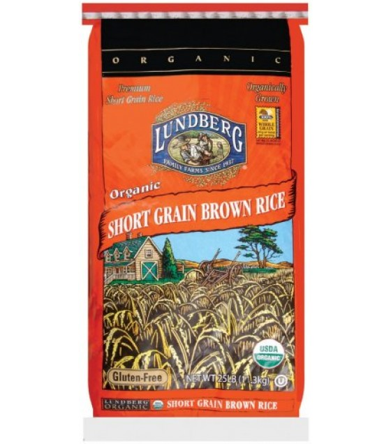 [Lundberg Family Farms]  Short Grain Brown, Food Service  At least 95% Organic
