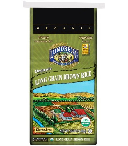 [Lundberg Family Farms]  Long Grain Brown, Food Service  At least 95% Organic