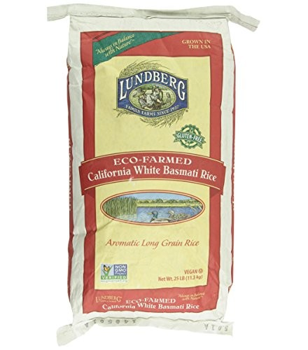 [Lundberg Family Farms]  Basmati Rice White, Food Service