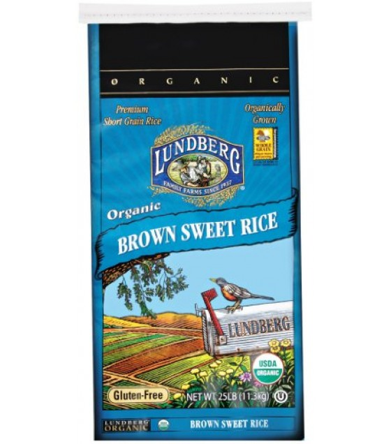 [Lundberg Family Farms]  Sweet Brown, Food Service  At least 95% Organic
