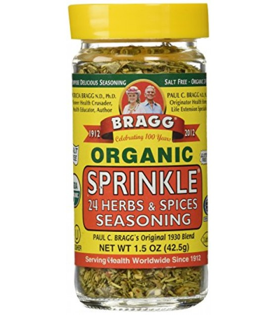 [Bragg] Seasonings Sprinkle, Herb & Spice  At least 95% Organic