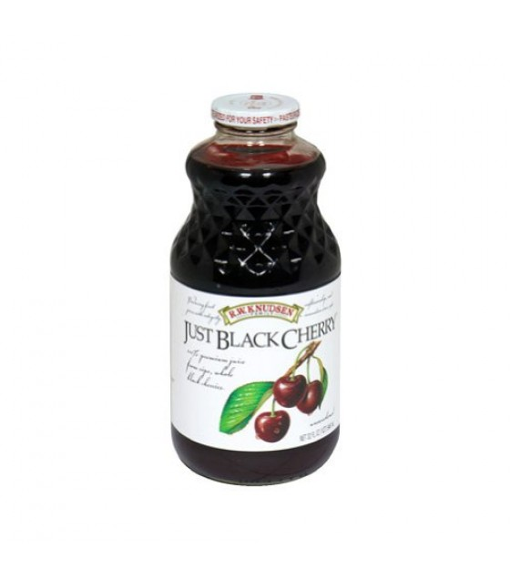 [R.W. Knudsen Family] 100% Straight Fruit Juices Just Black Cherry