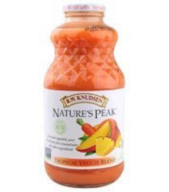 [R.W. Knudsen Family] Vegetable Blends Natures Peak, Tropical Veggie Blend
