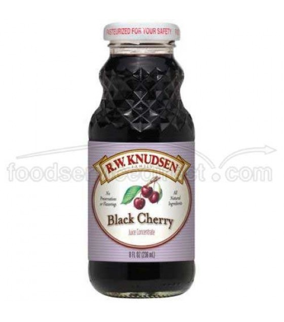 [R.W. Knudsen Family] Juice Concentrates, 8 oz. Black Cherry