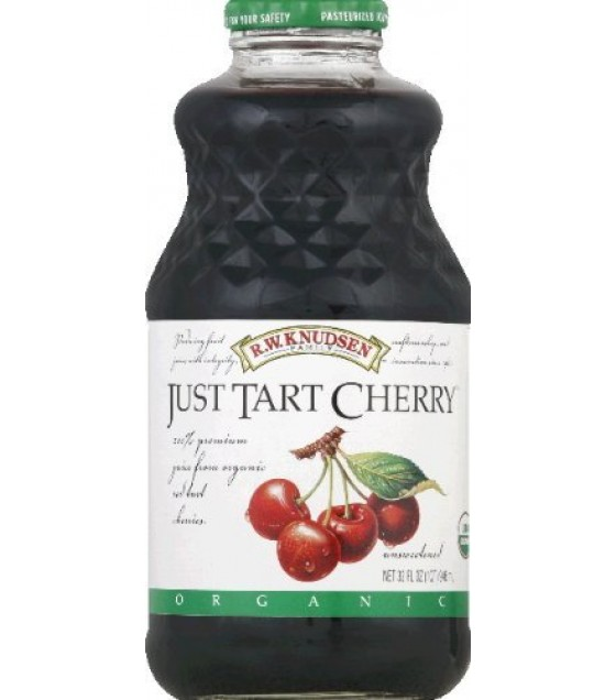 [R.W. Knudsen Family] 100% Straight Fruit Juices Just Red Tart Cherry  At least 95% Organic