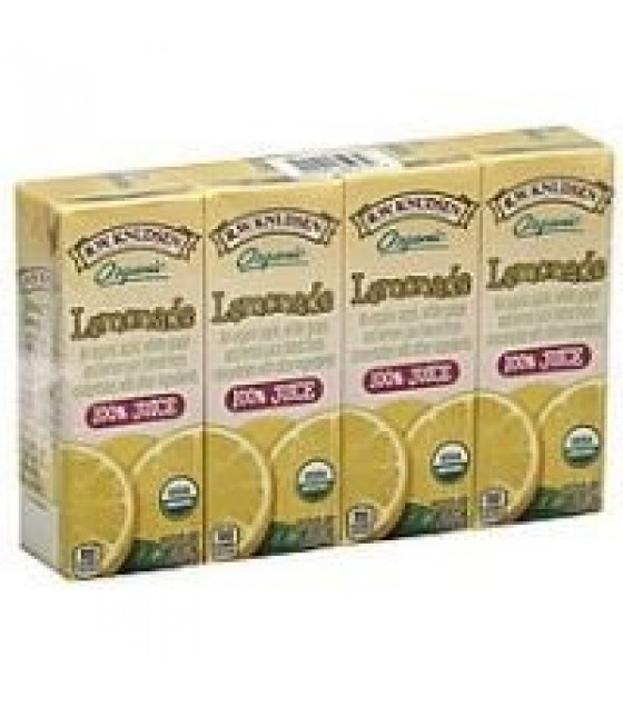 [R.W. Knudsen Family] Aseptic Juice Boxes 100%, Lemonade  At least 95% Organic