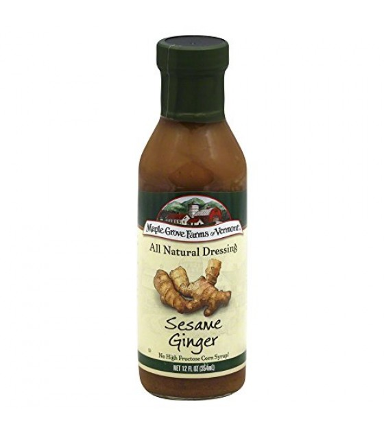 [Maple Grove Farms] Salad Dressing Bottled Sesame Ginger