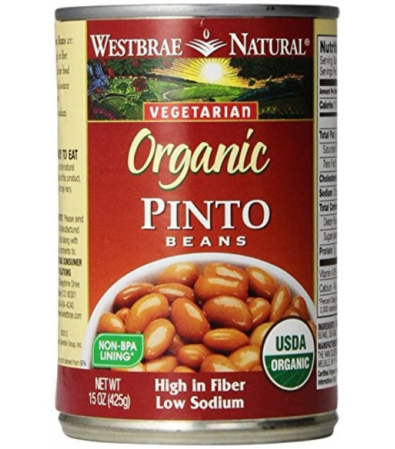 [Westbrae] Beans Pinto, FF  At least 95% Organic