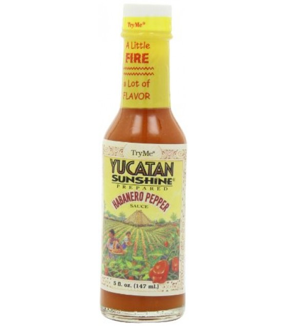 [Try Me] Sauces Condiments/Specialty Sauces Sauce, Yucatan Hot