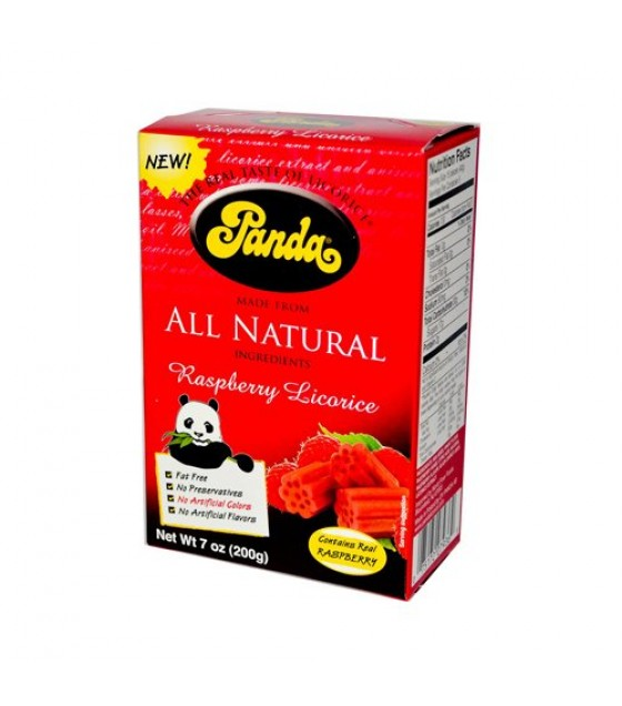[panda] All Natural Raspberry Licorice