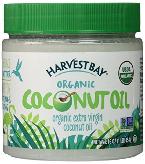[Harvest Bay] Oils Coconut, Extra Virgin  At least 95% Organic