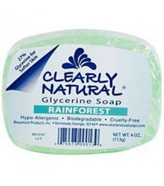 [Clearly Natural] Glycerine Soap Rainforest