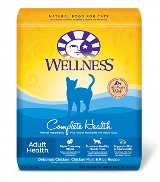[Wellness] Dry Cat Food Complete Health, Chicken