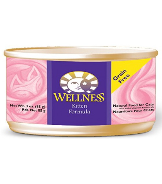 [Wellness] Canned Cat Food Kitten