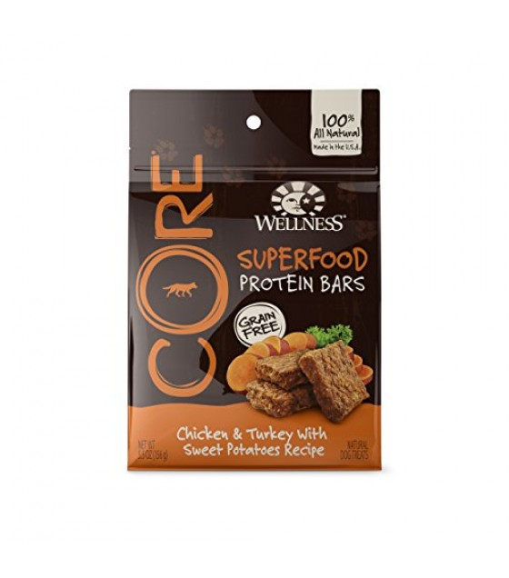 [Wellness] Dog Treats CORE Chicken/Turkey/Sweet Potatoes