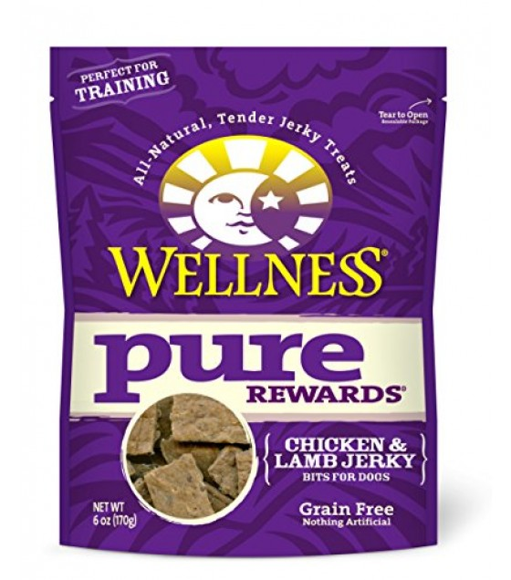 [Wellness] Dog Treats Pure Rewards, Chicken & Lamb