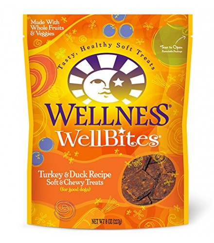 [Wellness] Dog Treats Wellbites, Turkey & Duck