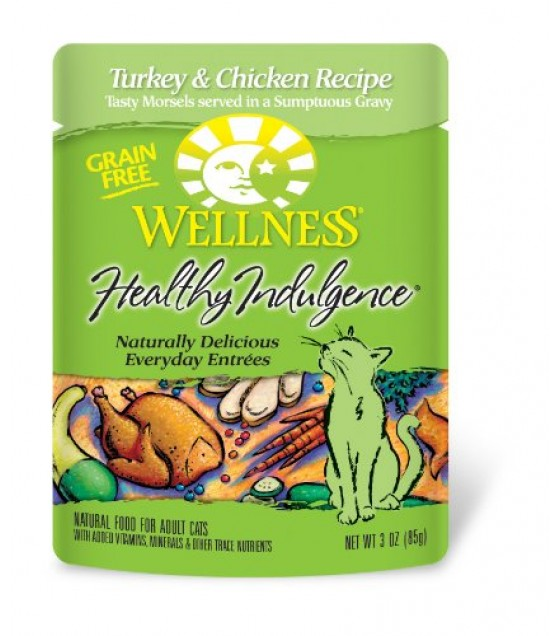 [Wellness] Cat Food In Pouches - Moist Turky & Chicken