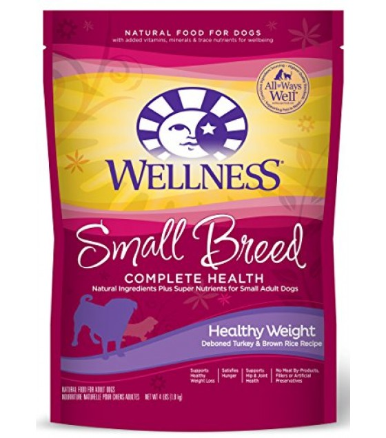 [Wellness] Dry Dog Food Healthy Weight,Puppy/SM Dog