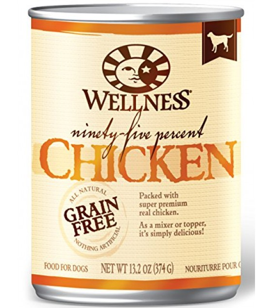 [Wellness]  Ninety Five Chicken Dog Canned