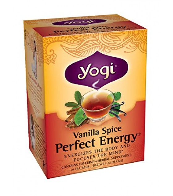 [Yogi Teas] Tea For Your Mind Vanilla Spice Perfect Energy