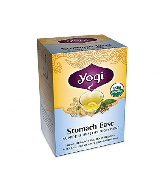 [Yogi Teas] Tea For Your Body Stomach E Z  At least 95% Organic