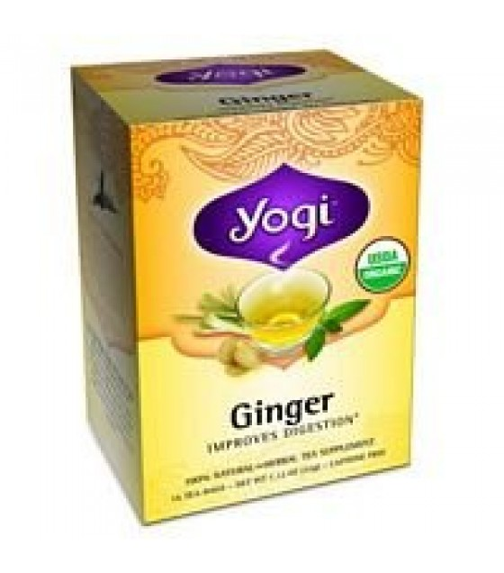 [Yogi Teas] Tea For Your Body Ginger  At least 70% Organic