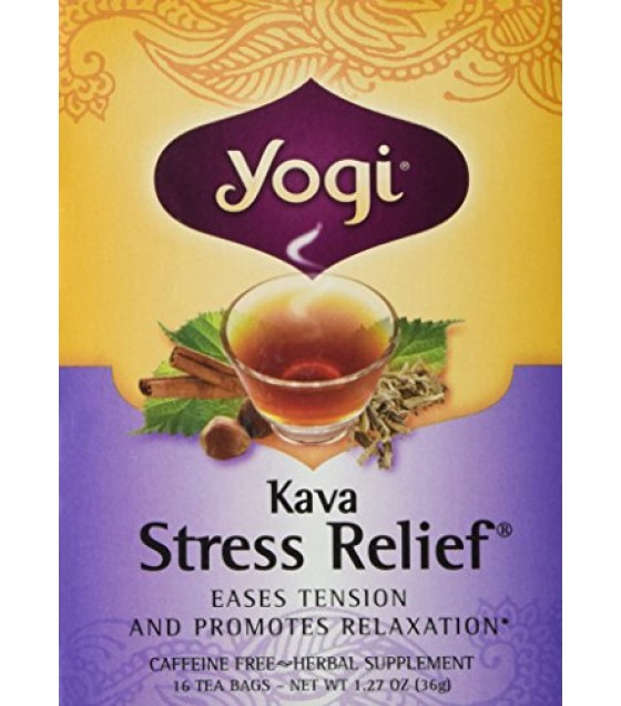 [Yogi Teas] Tea For Your Mind Kava Stress Relief