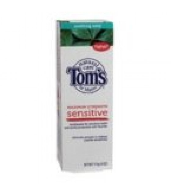 [Tom`S Of Maine] Toothpaste w/Fluoride Sensitive, Soothing Mint