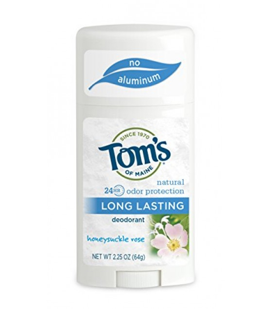 [Tom`S Of Maine] Deodorant Stick, Honeysuckle Rose