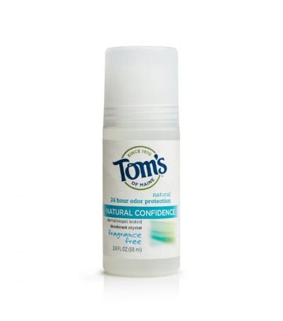 [Tom`S Of Maine] Deodorant Roll On, Crys Confidence, Frag Free