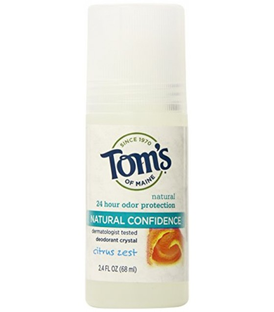 [Tom`S Of Maine] Deodorant Roll On, Crys Confidence, Citrus