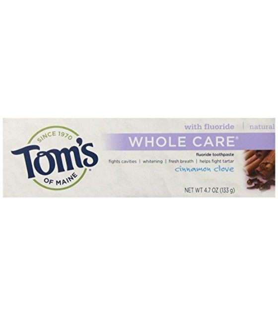 [Tom`S Of Maine] Whole Care Toothpaste Cinnamon Clove
