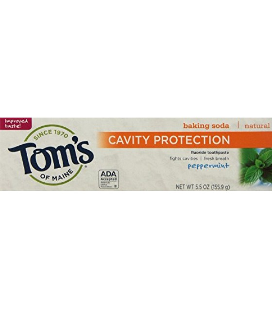 [Tom`S Of Maine] Toothpaste w/Fluoride Peppermint Baking Soda