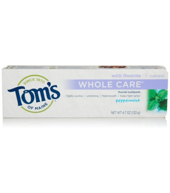 [Tom`S Of Maine] Whole Care Toothpaste Peppermint
